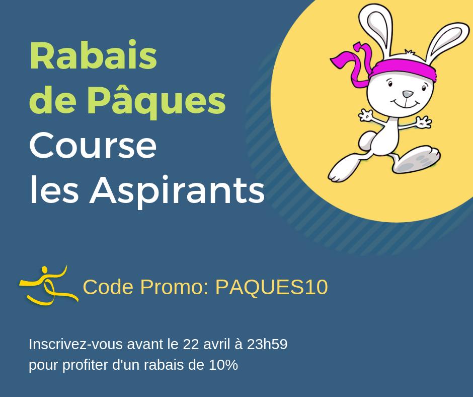 promo de Pâques Course Les Aspirants